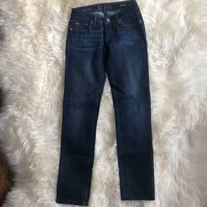 DL1961 Mid Rise Skinny Ankle Jeans